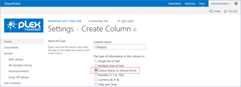 create a glossary of terms in sharepoint 2013