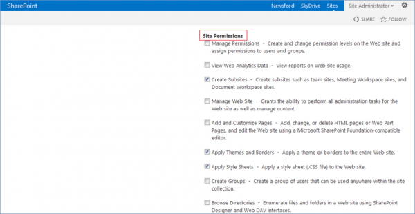 how to create a new sharepoint site